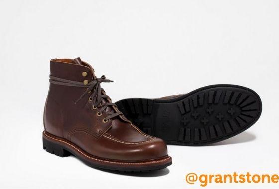 Brass Boot Crimson Chromexcel : l'excellent rapport-qualité-prix de GRANTSTONE